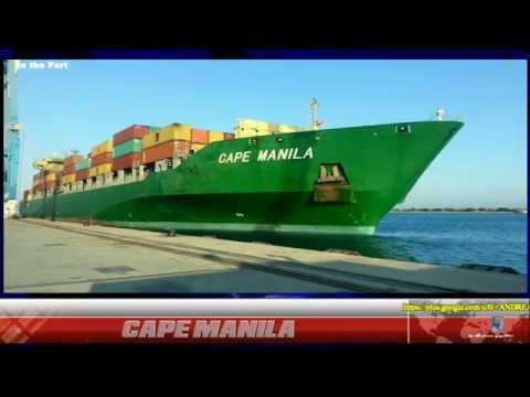 CAPE MANILA - CONTAINER SHIP - 9571313