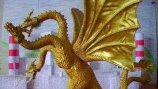 fareast monsters battlezone king ghidorah toy review