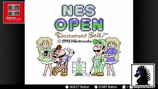 NS Nintendo Entertainment System - Nintendo Switch Online #21: NES Open Tournament Golf