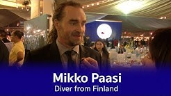 Mikko Paasi -  Diver from Finland