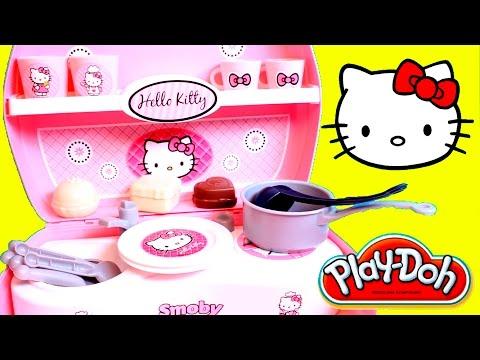 Hello Kitty Toy Kitchen HK Mini Kitchen Play Set Cocinita de Hello Kitty Hello Kitty Pastry Shop