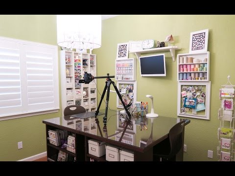 Video Camera Set Up And Lighting For Card Making Tutorials