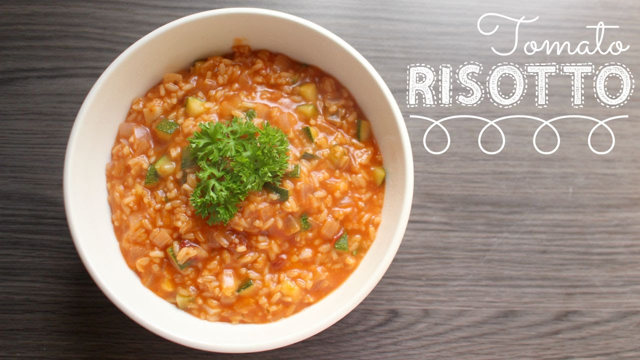 recipe: tomato risotto recipe vegetarian [1]