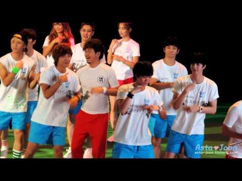 120807 SAMSUNG GALAXY S III IDOL BIG MATCH - MBLAQ CHEER DANCE