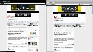 Firefox 5 vs Google Chrome (Quick Speed Test)