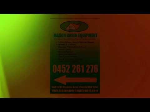 Materials Handling, Lifting & Safety-Mason Green Equipment