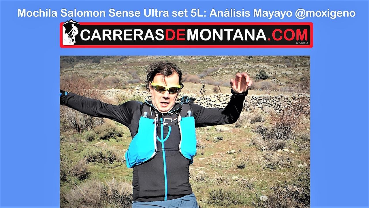 pas mal 516b7 f9147 Salomón SLAB sense ultra set 5L: Mochila trail running con carcaj. Análisis  por Mayayo @moxigeno