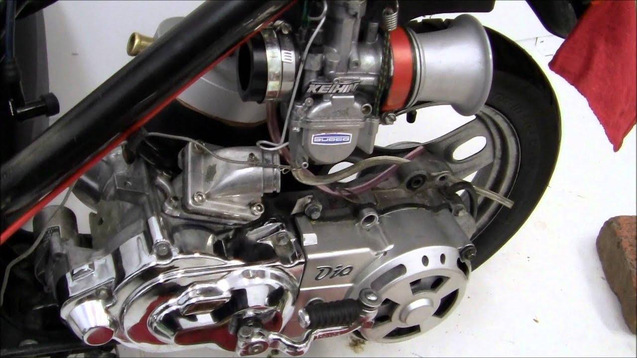 Как запустить двигатель на скутере самостоятельно, если он ...