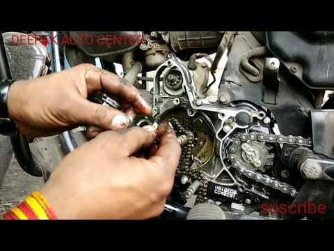 HERO HONDA REPLACE TAIMING CHAIN