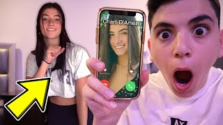 CALLING CHARLI D'AMELIO AT 3AM! (SHE MADE A TIKTOK IN MY HOUSE!)