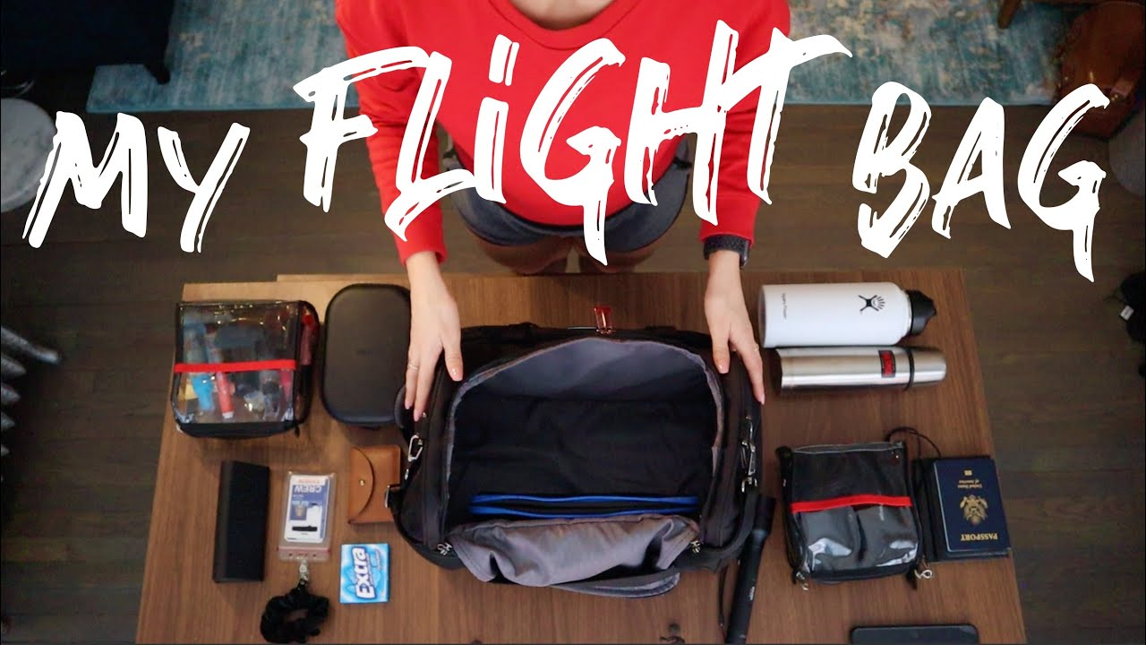 what's in my flight bag? | A PILOTS LIFE FOR ME