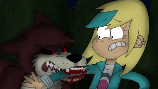 "Werewolf Luna saves Sam from a Wild Wolf! ""Loud House"" Part 2"