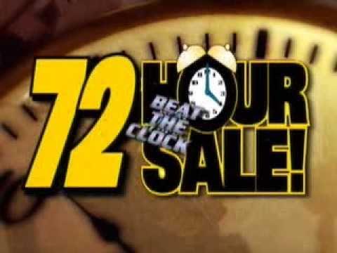 72 Hour Sale Car Dealer TV Spot Production Automotive Advertising