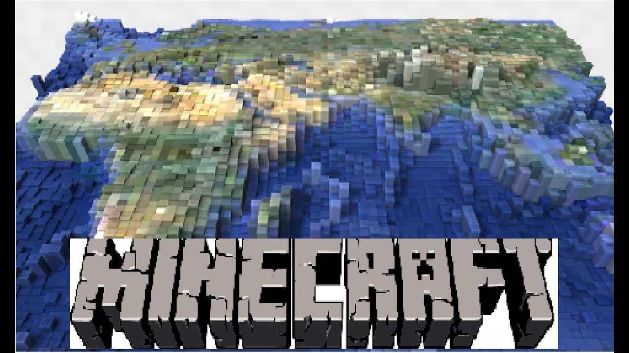 NEW ]Earth Map!!! Download Link+Install, Minecraft 1.5.1 W/music and ...