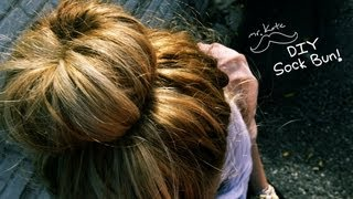 Mr. Kate Diy Sock Bun Hair Tutorial