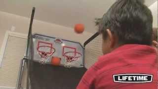Swingsets And Basketball Hoops Nashville.  The Lifetime Doubleshot Arcade Basketball System