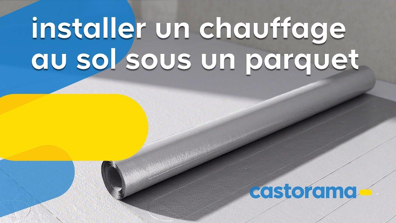 Chauffage Au Sol Electrique Pose comment poser un plancher chauffant électrique   castorama
