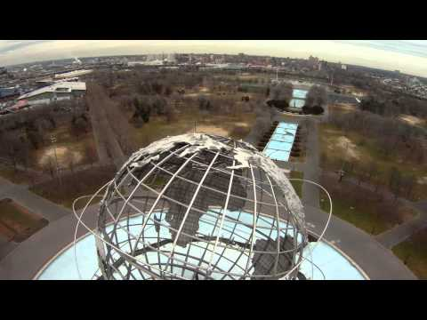 Scouting the Unisphere with my DJI F550 Hexacopter