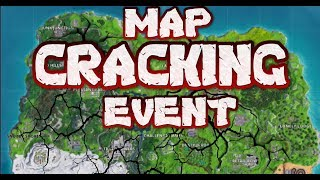 FORTNITE -  EARTHQUAKE EVENT HAPPENING IN GAME NOW - COUNTDOWN - MAP CRACKING OPEN LIVE