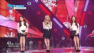【TVPP】SNSD-TTS - Winter Story, 소녀시대- 겨울을 닮은 너 @Comeback Stage, Show Music Core