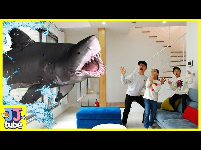 마법 리모콘으로 상어가 짠! 롯데월드 아쿠아리움 방학 가족여행 브이로그 Aquarium Shark [제이제이튜브-JJ tube]