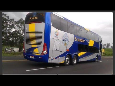 Transporte Ecuador Marcopolo Paradiso G7 1800 DD