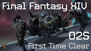 FFXIV Raid: Omega - Deltascape V2 (Savage) First Time Clear [MCH POV]
