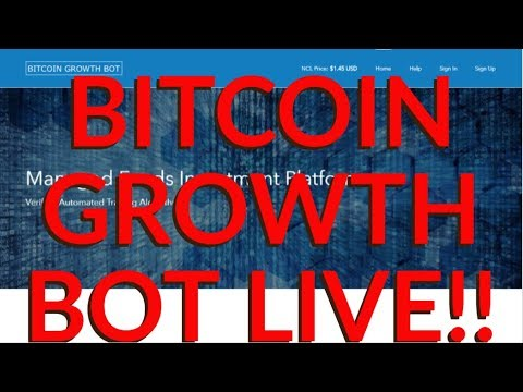 BITCOINGROWTHBOT! INVESTMENT PLATFORM LIVE, 28 DAYS CYCLE, TARGET 7%+ MONTHLY & EARLY WITHDRAWAL...