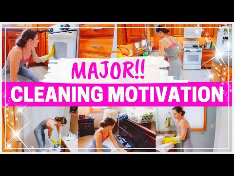 TIME LAPSE CLEANING :: MESSY HOUSE CLEANING :: WORKING MOM CLEANING ROUTINE