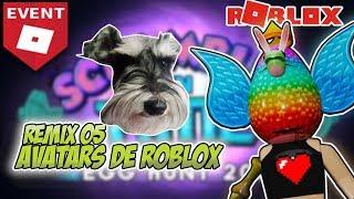 Roblox 05 Theme avatar Remix: Egg Hunt Event 2019 critica ou destrói a minha roupa Roblox