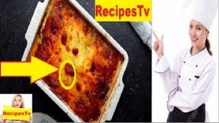 How To Make Tuscan Chicken Potato Lasagna  At Home    Healthy Food Recipes