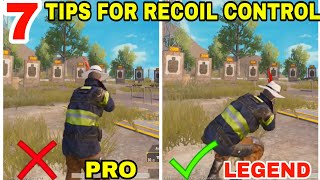 [12.70 MB] 7 TIPS AND TRICKS TO CONTROL RECOIL IN PUBG MOBILE • PUBG MOBILE RECOIL GUIDE