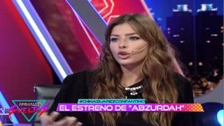 """China Suárez: """"Abzurdah fue todo un desafío"""""""