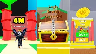 NEW KINGHT EGG UPDATE! LOGIN CHEST + NEW MAGNET & SHINY KNIGHT PETS In MAGNET SIMULATOR! [Roblox]