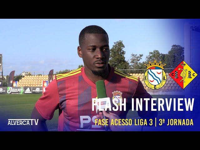 FC Alverca 3-2 Condeixa | Flash Interview
