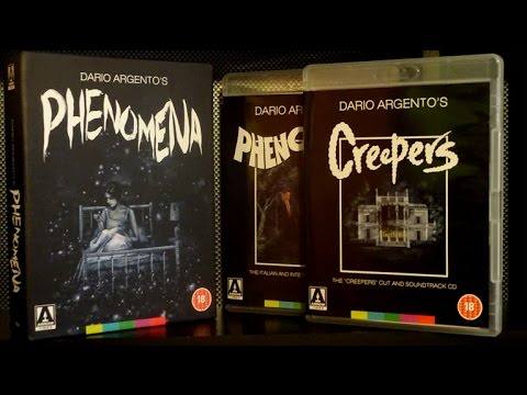 Dario Argento's PHENOMENA Limited Edition Arrow Video Blu Ray Unboxing