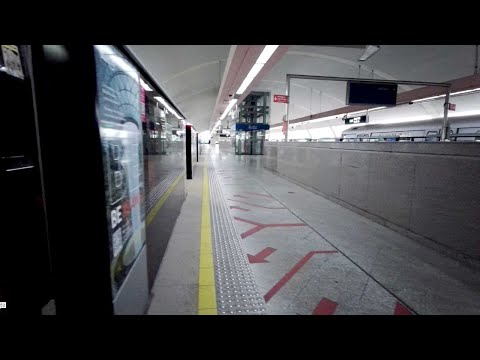 Singapore MRT ride from Pasir Ris to Jurong East train station (1 of 3)