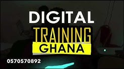 Digital Training Ghana - Blogging, YouTubing, SEO, Social Media, Web Development