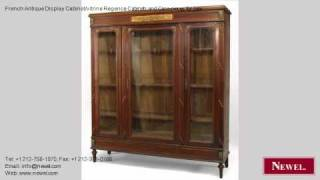 French Antique Display Cabinet/vitrine Regence Cabinets