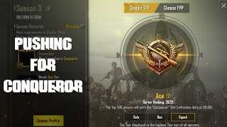 PUBG Mobile - Now Pushing for Conqueror
