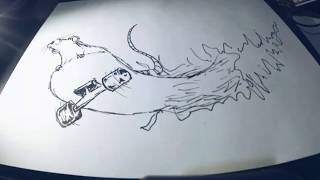 How to draw a skateboard ll