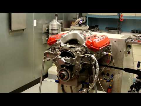 NASCAR Toyota Racing Engine Valve Train Testing on Spintron