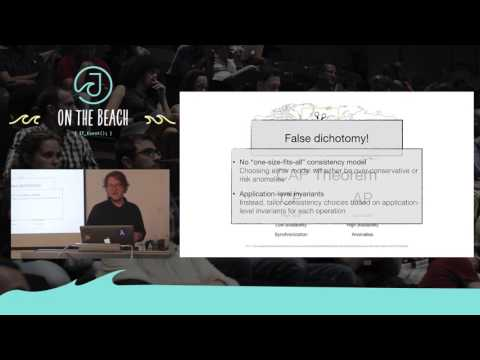 Just-Right Consistency: Closing The CAP Gap - Christopher Meiklejohn - JOTB17