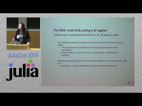 JuliaCon 2016   Economic Modeling at the Federal Reserve Bank of New York   Erica Moszkowski