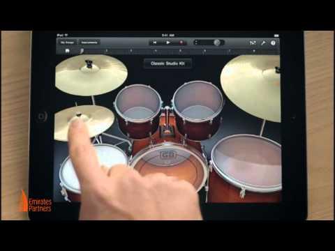 GarageBand, игра на музыкальных инструментах