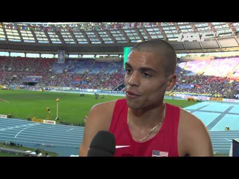 Moscow 2013 - Lopez LOMONG USA - 1500m Men Semi-Final - Heat 1