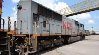 KCS Lines Rodeando las Gabachas EMD SD70 Series en Empalme Escobedo, Guanajuato. México NOAS_5