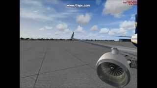 FSX RYANAIR boeing 737-800 heatrow to italy HQ