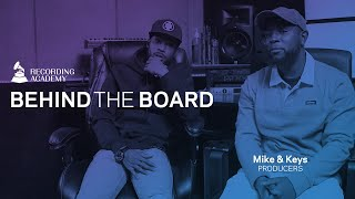 Mike & Keys Reveal Musical Beginnings, Reflect On Nipsey Hussle & Gladys Knight   Behind The Board
