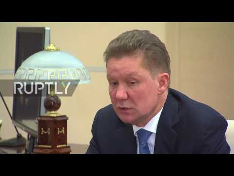 Russia: Turkish Stream project set to be completed by 2019, Gazprom CEO tells Putin
